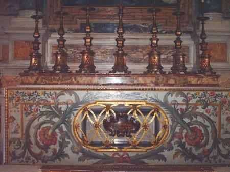 Grób Grzegorza Wielkiego w Bazylice Watykańskiej