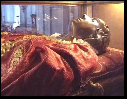 Srebrna maska świętej Łucji