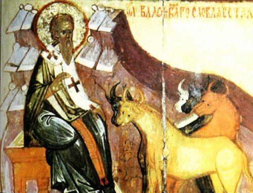 Św. Błażej i zwierzęta