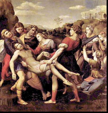Jezus zdjęty z krzyża