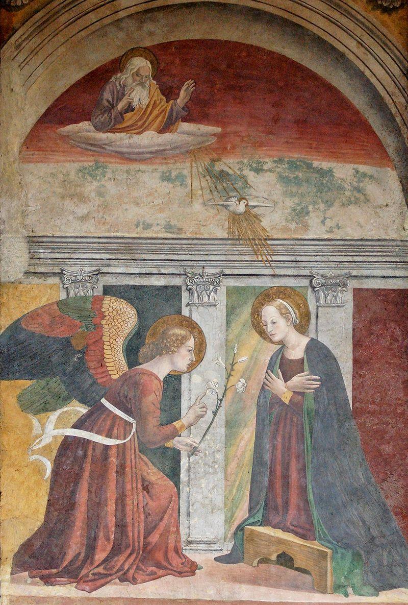 Zwiastowanie pędzla Melozzo da Forlì
