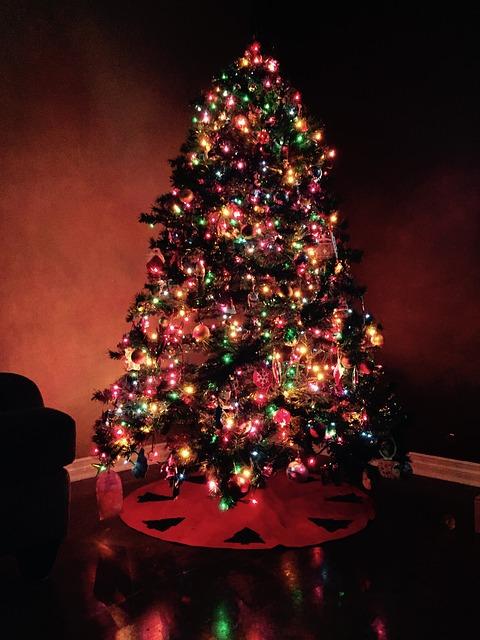 Wigilia Bożego Narodzenia - choinka