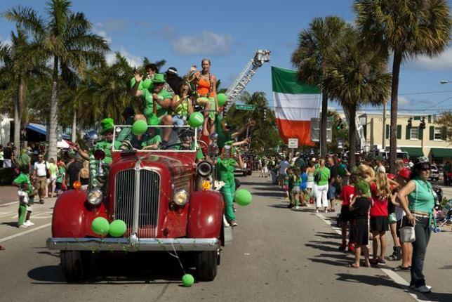 Obchody dnia św. Patryka na Florydzie