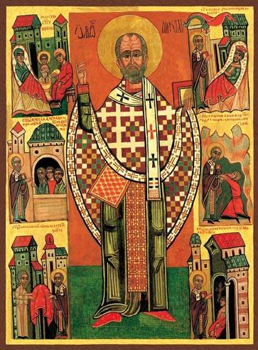 Święty Mikołaj, biskup Miry