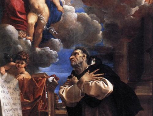 Św. Jacek, mal. Ludovico Carracci (1555–1619)